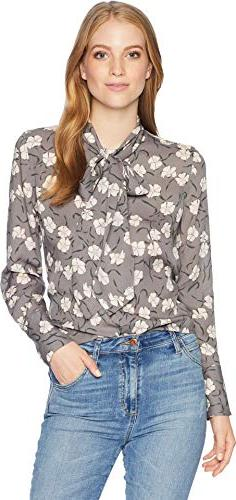 Equipment Women's Soiree Bloom Printed Georgette Luis Blouse