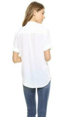 Womens Slim 100% Tops Shirt SZ