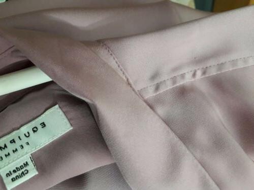Equipment womens KEIRA button shirt mauve pink