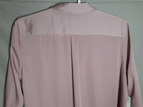 Equipment button down shirt light mauve pink top