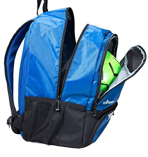 Athletico Soccer - Soccer Backpack Bags for Basketball, & Football Kids, Youth, Boys, | and Ball