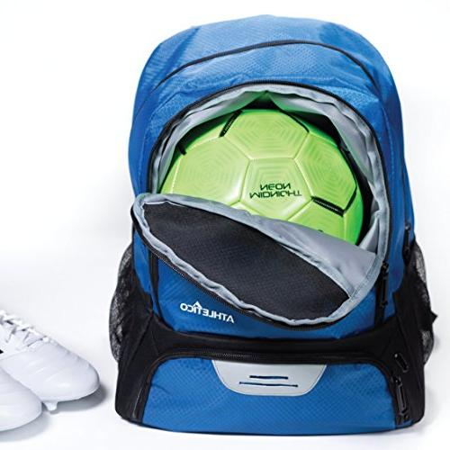 Athletico - Bags for Basketball, Volleyball & Football | Kids, Boys, | Separate and Compartments