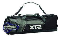 STX Lacrosse Challenger Lacrosse Equipment Bag, Black, 36-In