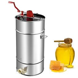 Goplus 2 Frame Stainless Steel Honey Extractor Manual Beekee