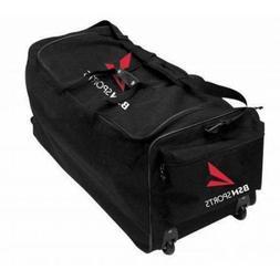 Large Equipment bag with wheels for football, baseball, bask