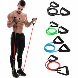 Latex Elastic Resistance Band Pilates Tube Pull Rope Gym Yog