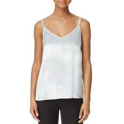 Equipment Femme Womens Layla Silk Velvet Camisole Top Silver