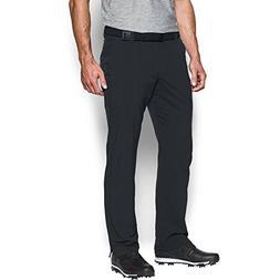 Under Armour Men's Match Play Golf Pants - Straight Leg, Bla