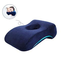 Zerlar Memory Cotton Lunch Break Face Down Head Rest Pillow