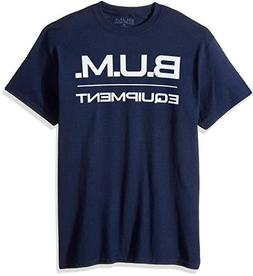 Men's Basic Logo B.U.M. Equipment T-Shirt Navy