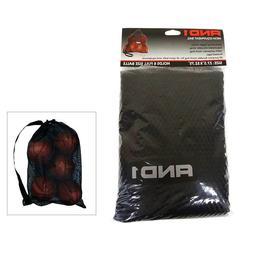 AND1 Mesh Ball Equipment Bag Sports Mesh Carrying Bag Basket