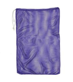 Champion Sports Mesh Equipment Bag Purple Size