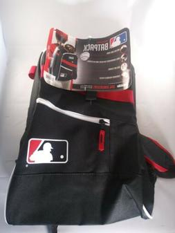 Franklin Sports MLB Batpack Equipment and Bat Backpack, B W