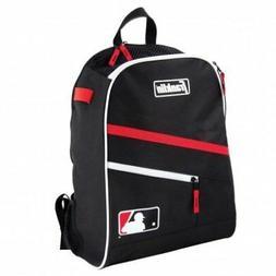 Franklin Sports MLB Batpack Equipment and Bat Backpack, Blac
