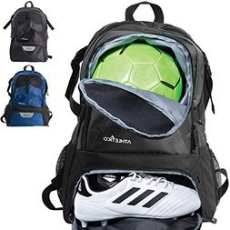 Athletico National Soccer Bag - Backpack for Soccer, Basketb