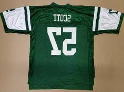 Reebok NFL Equipment New York Jets #57 Bart Scott Replica Me