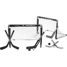 Franklin Sports Mini Hockey Goal Set Of Two - NHL Approved -