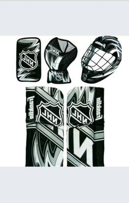 Franklin Sports NHL Mini Hockey Goalie Equipment with Mask S