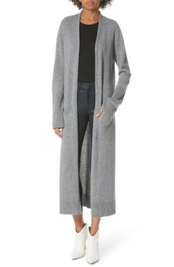 NWT Equipment Forrest Cashmere Long Cardigan Duster Heather