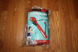 NWT DEBEER Lacrosse Scarlet Red Rip Stop Goggle Pocket Stick