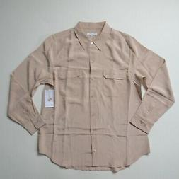 nwt slim signature in french nude silk