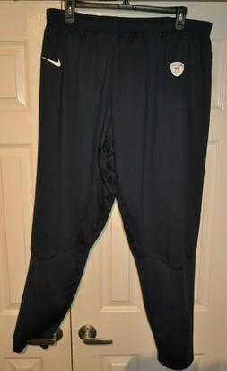 Nike NFL Equipment Training Pants  Navy Men's Sizes 3XL -4XL