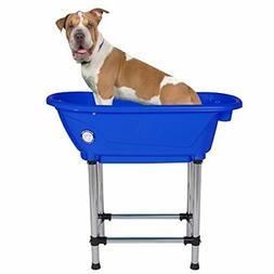 "Flying Pig Pet Dog Cat Portable Bath Tub Royal, 37.5""x19.5""x"