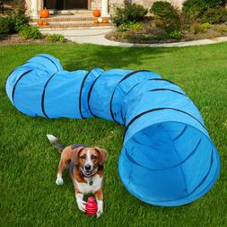 16.4' Agility Training Tunnel Pet Dog Play Outdoor Obedience