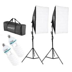 "Photography Lighting 20""x 28"" Softbox Photo Equipment Soft S"