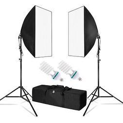 "Photography Lighting 20""x 28"" Softbox Reflector Photo Equipm"