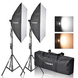 Photography Softbox Lighting Kit Photo Equipment Studio Doub