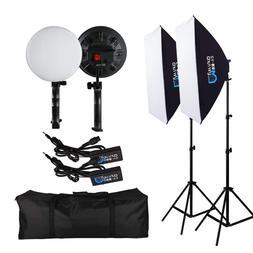 "Photography Softbox Lighting Kit Photo Equipment Studio 20"""