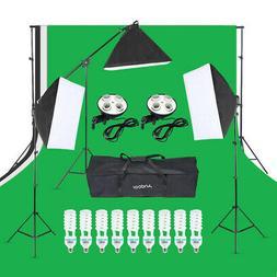 Photography Studio Product Light Lighting Tent Kit Photo Vid