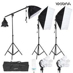 Andoer Photography Studio Product Lighting Tent Kit Photo Vi