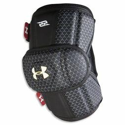 Under Armour Player SS Lacrosse Arm Pad Black Size Large NWT