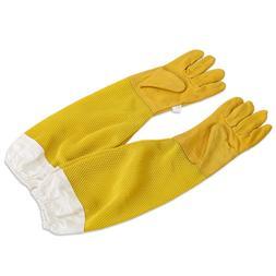 Pokich A Pair Lawn Beekeeping Gloves Goatskin Bee Keeping Wi