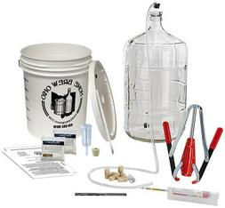 Premium Wine Making Equipment Kit - with Auto-Syphon