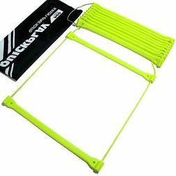 QUICKPLAY PRO Agility Ladder No Tangle with Adjustable Flat
