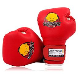 Cheerwing 4oz PU Kids Boxing Gloves Children Cartoon MMA Spa