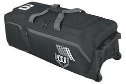 Wilson Pudge 2.0 Wheeled Baseball Equipment Bag, New