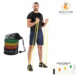 pull up latex resistance band streching workout