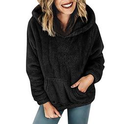 Liraly Pullovers For Women Plus Size Ladies Warm Fluffy Wint