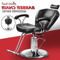 Reclining Hydraulic Barber Chair Styling Salon Beauty Shampo