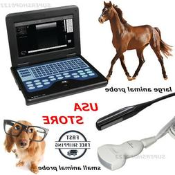 rectal+convex animal Probe Veterinary portable B-Ultrasound