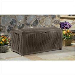 Suncast Resin 99-Gallon Deck Box - - DBW9200