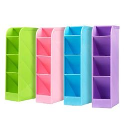 School Desk Pen Caddy Organizer - 4 Piece Set School Equipme