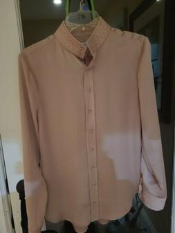 Equipment silk blouse small