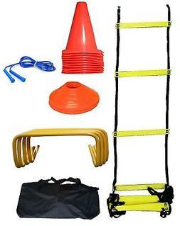 Soccer Pro Training Kit Football Volleyball Equipment Speed