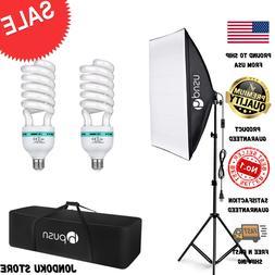HPUSN Softbox Lighting Kit Professional Studio Photography C