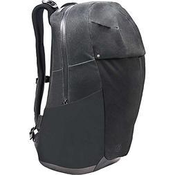 softshell daypack black waxed kodra